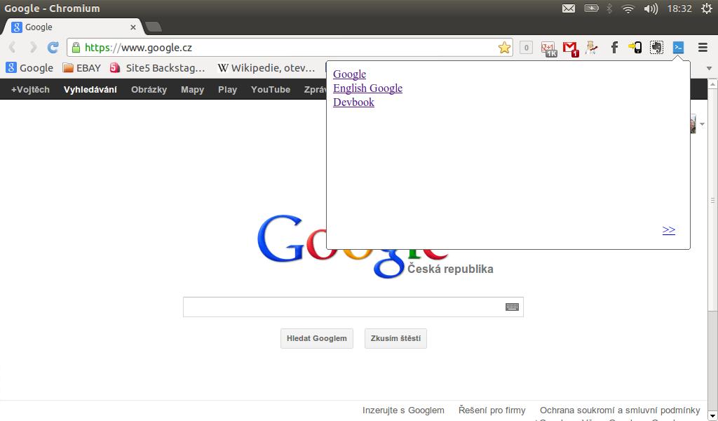 Rozšíření pro Chrome