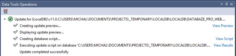 Data tools operations