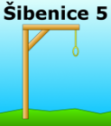 Hra Šibenice #5 - Game over