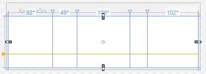 Rozdělení Gridu vVB.NET WPF aplikaci