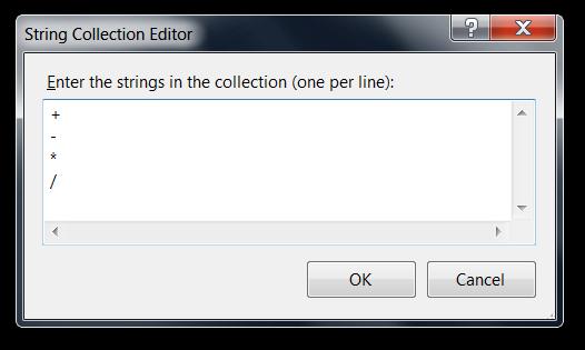 Položky ComboBoxu ze VB.NET ve Visual Studio