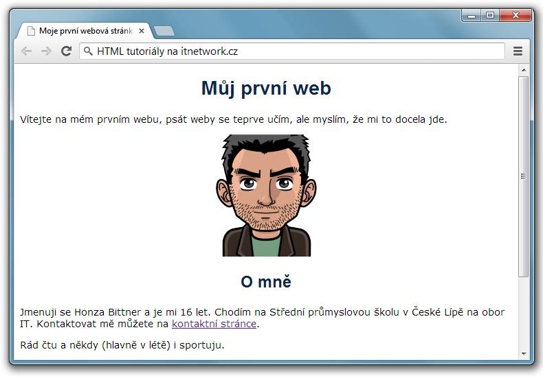 Velikost písma html