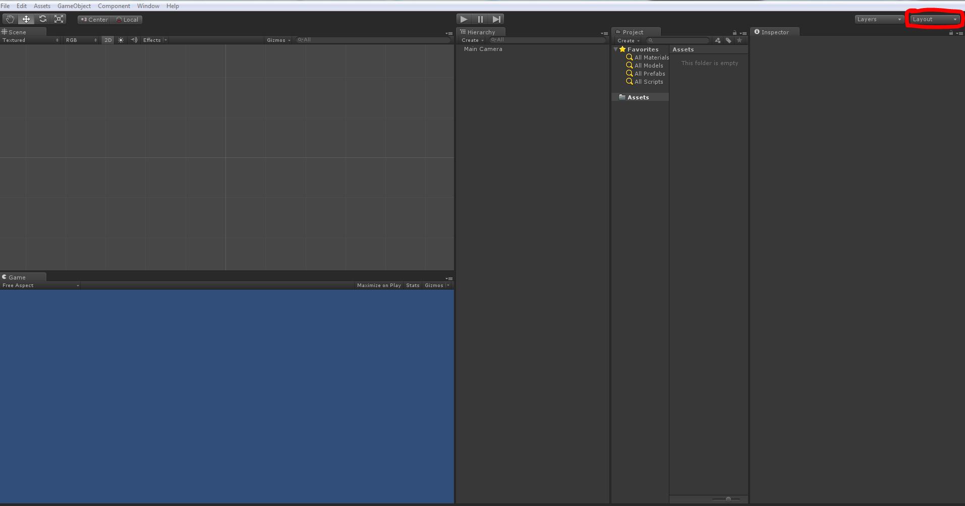 Klikneme na layout a zvolíme: TALL layout.