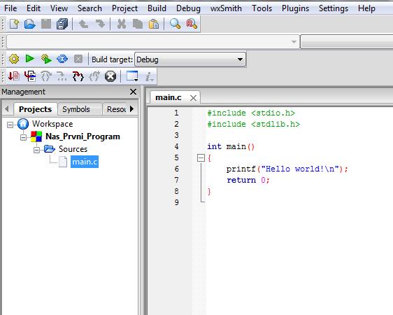 Code::Blocks_projekt