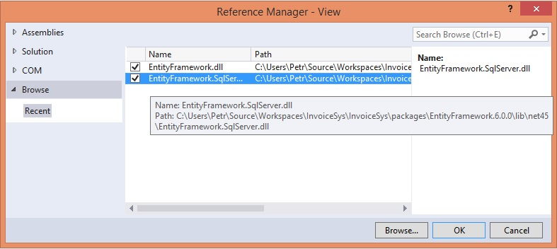 Reference ve Visual Studio