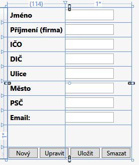 Účetnictví vC# .NET WPF